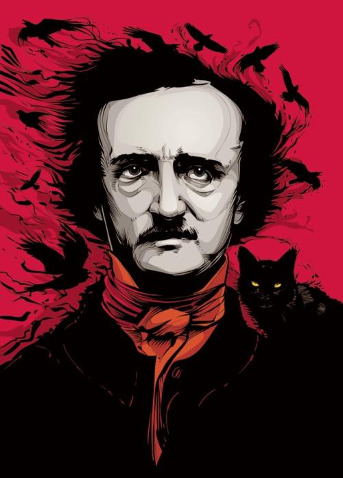 Poema O Corvo, de Edgar Allan Poe